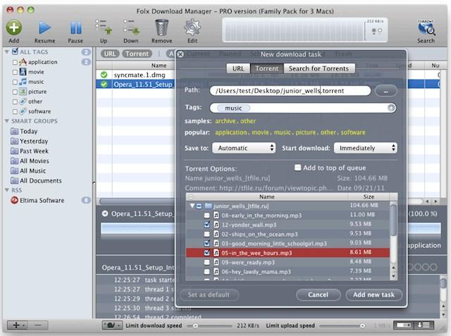 Flox Download Manager