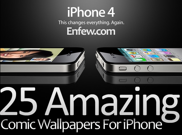 25 Amazing Comic Wallpapers For Iphone Enfew