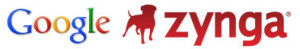 google logo and zynga games logo
