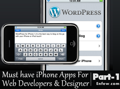 must have apps for iphone must iphone apps for web devs amp designers part 1 enfew 2336