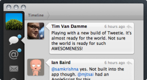Tweetie App Screenshot Twitter Client For Mac Apple