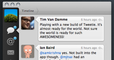 Tweetie App Screenshot Twitter Client For Mac Apple