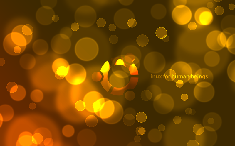 Bokeh Effect Backgrounds: 6 Amazing WideScreen Ubuntu HD Wallpapers