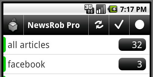 NewsRob screenshot