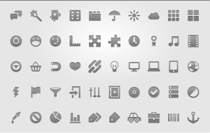 50 Free Android Menu Icons