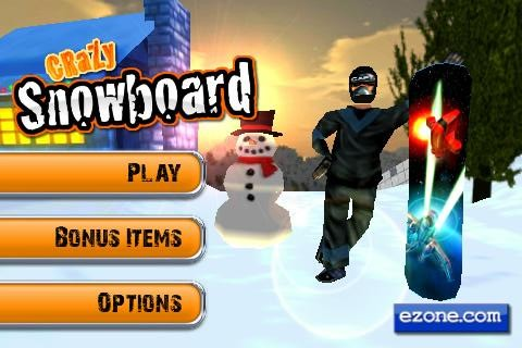 Crazy Snowboard By ezone.com