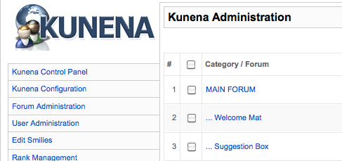Kunena screenshot joomla Forum - Enfew