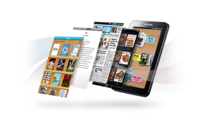 Samsung Galaxy Tab screenshot photo