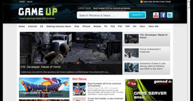 gameup-screenshot wordpress theme by magazine3