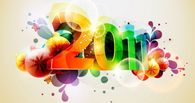 happy 2011 wallpaper shiny
