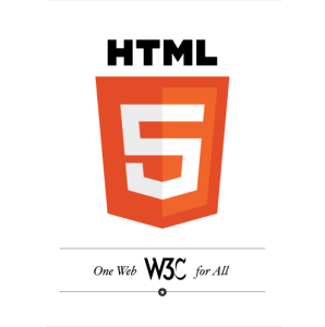 html5 logo official by w3c