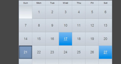 Create an Event calendar using Codeigniter and jQuery