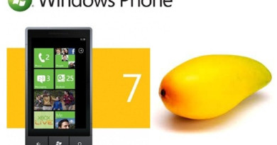 Windows 7 phone mango