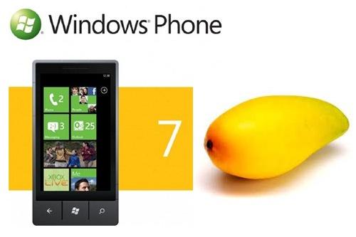 Windows 7 phone mango