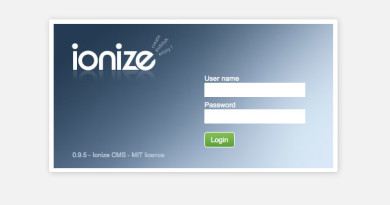 Ionize CMS - real multilingual CMS