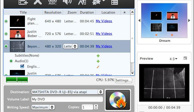Xilisoft DVD Creator for Mac by Xilisoft