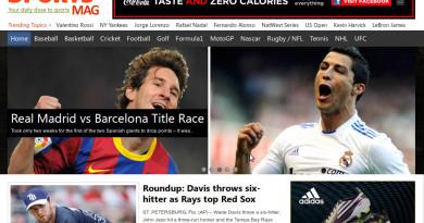 Sports Theme for Wordpress by Magazine3
