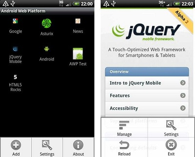 Android Web Platform