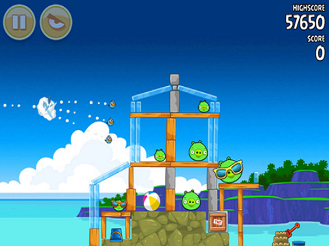 angry birds puzzle game