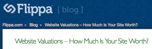 how much your website is worth