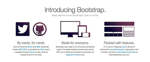 introducing twitter bootstrap project