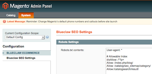 Magento SEO extention