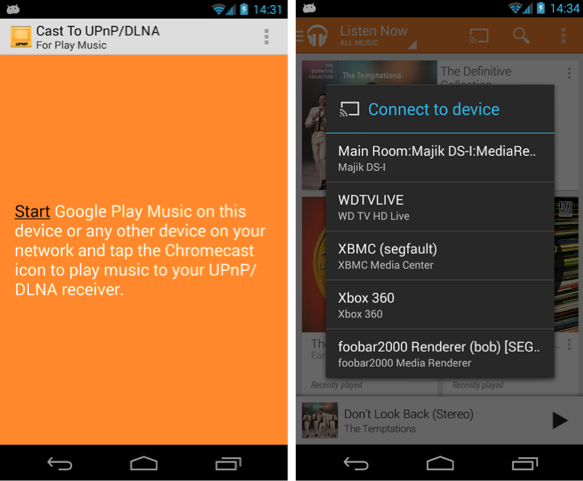 UPnP for Android smartphones