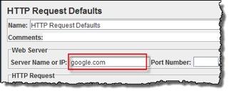 JMeter add http request details
