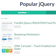 best jquery plugin resources