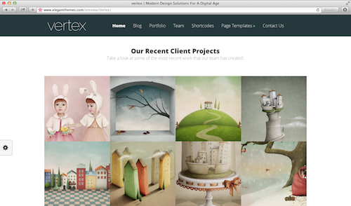 Vertex Elegant WordPress Theme