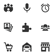 free mobile application icons on enfew