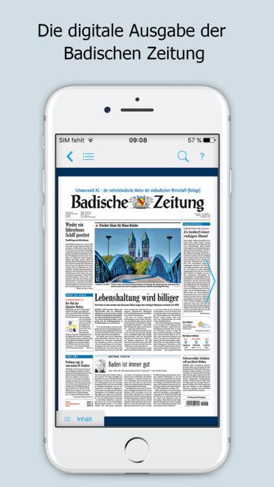 Badische Zeitung Ipad