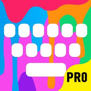 Color Keyboard Themes Pro  - new keyboard design & backgrounds for iPhone, iPad, iPod