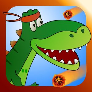 Run Dino Run 2: Play funny baby TRex Dinosaur racing in a prehistoric jurassic world park - Newest HD free game for iPad by Tiltan Games
