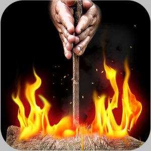 Fire it up FREE - Bow Drill for iPhone , iPad and iPod touch
