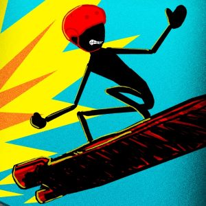 Stickman Real Crazy Hoverboard Extreme Multiplayer Racing Game Free